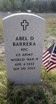 Profile photo:  Abel D. Barrera
