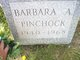 Barbara A <I>Daniels</I> Pinchock