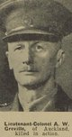 Profile photo: Lieutenant Colonel Alec Wilkie Greville