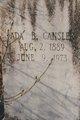 Profile photo:  Ada Estell <I>Brock</I> Cansler