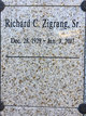 Profile photo:  Richard Charles Zigrang, Sr