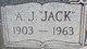 "Profile photo:  A. J. ""Jack"" Ridge"
