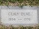 "Profile photo:  Celia Margaret ""Cealy"" <I>Duke</I>"