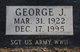 George Joseph Eastman