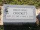 Helen Rose <I>Vance</I> Crockett