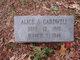Profile photo:  Alice Ann <I>Chapman</I> Cardwell