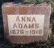 Anna <I>Skaar</I> Adams