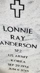 Lonnie Ray Anderson
