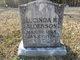 "Profile photo:  Lucinda R ""Lucindy"" <I>Sturdivant</I> Alderson"