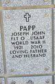 Profile photo:  Joseph John Papp
