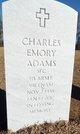 Profile photo: SGT Charles Emory Adams