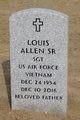 SGT Louis Allen, Sr