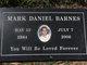 Profile photo:  Mark Daniel Barnes