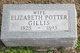 Profile photo:  Elizabeth <I>Potter</I> Gillis