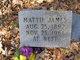 Profile photo:  Mattie <I>Foster</I> James