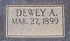 Dewey Alford
