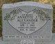 Profile photo:  Annette J. Alexander