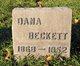 "Profile photo:  Celestia Mandana ""Dana"" <I>Redfern</I> Beckett"