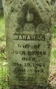 Profile photo:  Sarah J Boman