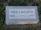 Fred J McGaffin