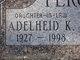 """Profile photo:  Adelheid Katherina """"Addie"""" <I>Hofmann</I> Percel"""