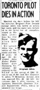 Profile photo: Sgt Donald George Allen