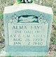 Profile photo:  Alma Faye Ables