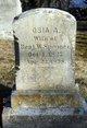 Osia A. <I>Allen</I> Spooner