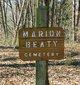 Marion Beaty Cemetery