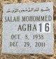 Salah Mohommed Agha