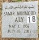 Samir Mohmoud Ali