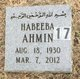 Habeeba Ahmin