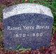 Rachel <I>Yates</I> Boyles