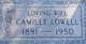 Profile photo:  Camille <I>Stagner</I> Lowell