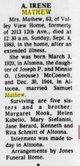 Ann Irene <I>McConnell</I> Mathews