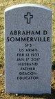 Profile photo:  Abraham Donald Sommerville