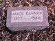 Alice <I>Doran</I> Cannon