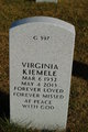 Virginia <I>Baumgartner</I> Kiemele