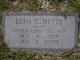 Edna <I>Callahan</I> Metts