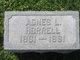 Profile photo:  Agnes E <I>Lewis</I> Horrell