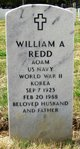 William A Redd