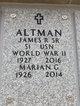 Profile photo:  James R Altman, Sr