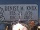 Profile photo:  Denise M. <I>Knox</I> Mahoy