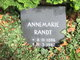 Profile photo:  Annemarie Randt