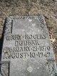 Mary <I>Rogers</I> Dunbar