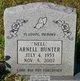 "Profile photo:  Arnell ""Nell"" Hunter"