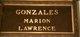 Marion Elizabeth <I>Deisseroth</I> Gonzales