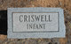 Profile photo:  (Baby) Criswell