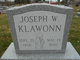 Joseph William Klawonn