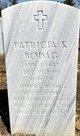 "Profile photo:  Patricia Kay ""Downing"" Bodag"